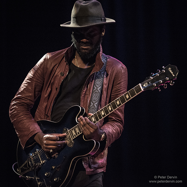 review gary clark jr electrifies packed moore theatre. Black Bedroom Furniture Sets. Home Design Ideas