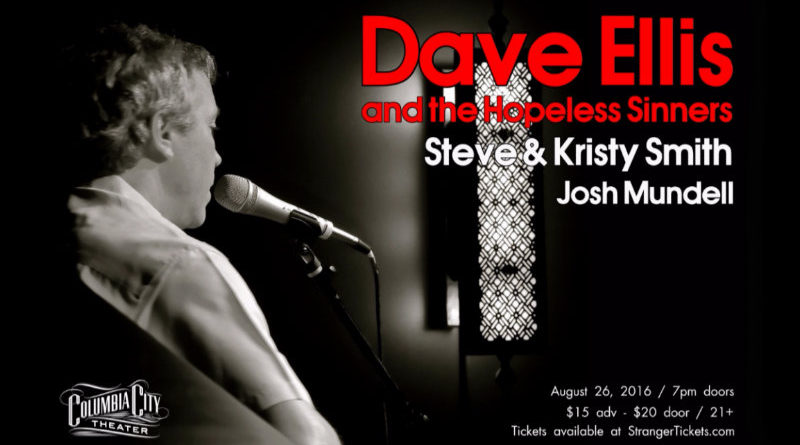 Dave Ellis and the Hopeless Sinners at the Columbia City Theater on August 26
