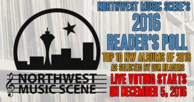 NorthWest Music Scene Reader's Poll – Live Voting for Top 10 Albums of 2016