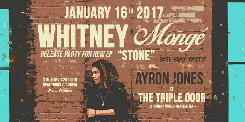 Whitney Monge Release Party