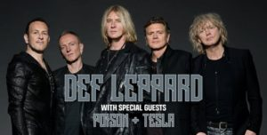 Def Leppard with Poison and Tesla to play White River in June @ White River Amphitheatre | Auburn | Washington | United States