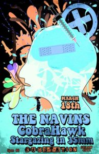 The Navins at Substation (with CobraHawk and Stargazing in 35mm) @ Substation | Seattle | Washington | United States