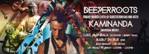 Kaminanda at Substation (with Luke Mandala and MID) @ Substation | Seattle | Washington | United States