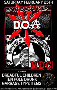 D.O.A., M.D.C.