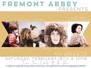 Leave Your Labels at the Door: Mimi Gilbert, Beth Whitney, more at Fremont Abbey Arts Center @ Fremont Abbey Arts Center | Seattle | Washington | United States