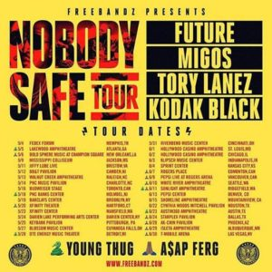 Future with special guests Migos & ASAP Ferg to play White River in June @ White River Amphitheatre | Auburn | Washington | United States