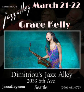 Grace Kelly at Jazz Alley @ Dimitriou's at Jazz Alley | Seattle | Washington | United States