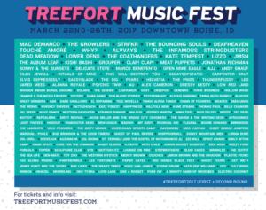 Treefort Music Fest 2017 Lineup @ Treefort Music Fest | Boise | Idaho | United States