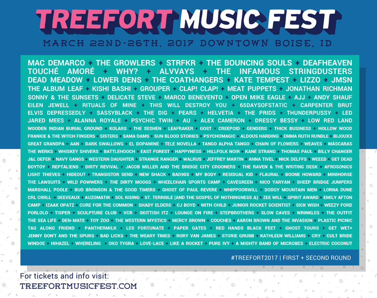 Treefort Lineup