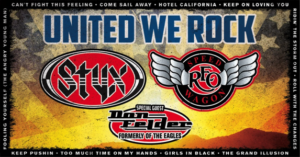 Styx, REO Speedwagon, and Don Felder to play White River Amphitheatre in June @ White River Amphitheatre | Auburn | Washington | United States