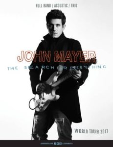 John Mayer to Play the Gorge in July @ Gorge Amphitheatre | Quincy | Washington | United States