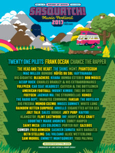 Sasquatch! Music Festival 2017 — Featuring Frank Ocean, Chance the Rapper, and Many More @ The Gorge | Quincy | Washington | United States