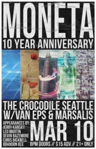 Moneta with Van Eps and Marsalis at The Crocodile March 10 @ The Crocodile | Seattle | Washington | United States