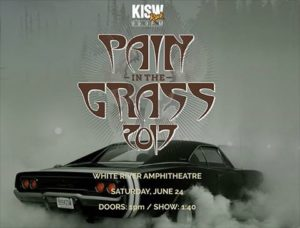 KISW Announces Pain In The Grass 2017 Lineup @ White River Amphitheatre | Auburn | Washington | United States
