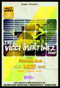 Vicci Martinez Band and BoobooLala to play Cultura Center April 15 @ Cultura Event Center | Tacoma | Washington | United States