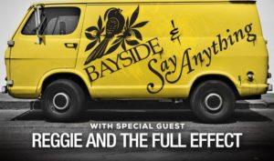 Bayside & Say Anything w/ Reggie and the Full Effect @ The Showbox | Seattle | Washington | United States