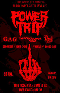 Power Trip at Real Art Tacoma @ Real Art Tacoma | Tacoma | Washington | United States