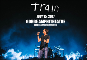 Train, Natasha Bedingfield & O.A.R. @ Gorge Amphitheatre @ The Gorge Amphitheatre | Quincy | Washington | United States