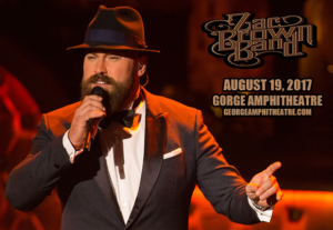 Zac Brown Band @ Gorge Amphitheatre @ The Gorge Amphitheatre | Quincy | Washington | United States