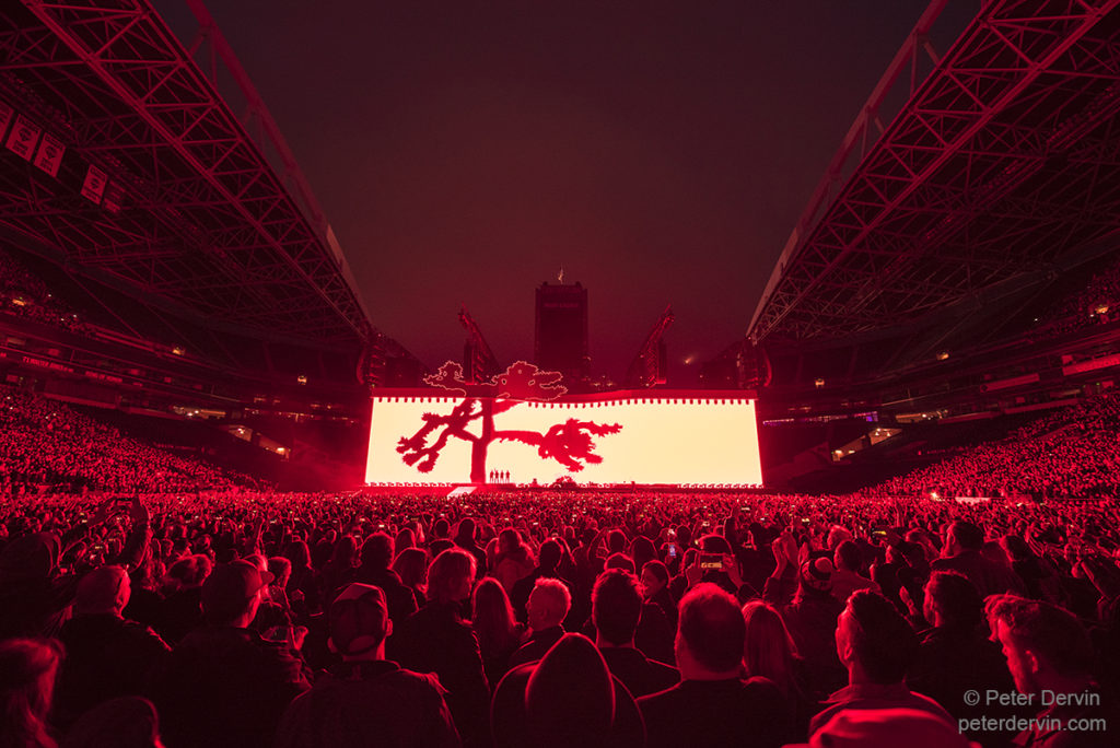 Concert Review: U2 – The Joshua Tree Tour 2017 in Seattle