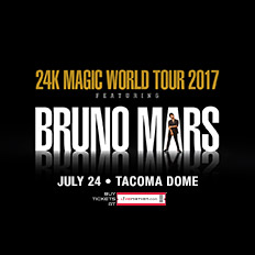 Bruno Mars @ The Tacoma Dome @ Tacoma Dome | Tacoma | Washington | United States