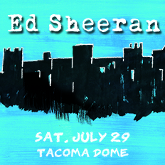 Ed Sheeran & James Blunt @ The Tacoma Dome @ Tacoma Dome | Tacoma | Washington | United States