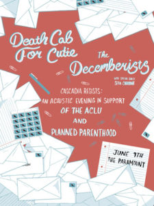 Death Cab For Cutie & The Decemberists @ Paramount Theatre in Seattle @ Paramount Theatre | Seattle | Washington | United States