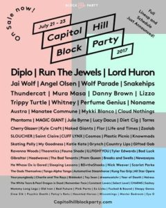 Capitol Hill Block Party Reveals Full Lineup and Daily Schedule for 2017 Event @ Between Broadway and 12th Ave & E Pine St and E Union St, Capitol Hill, Seattle WA | Seattle | Washington | United States