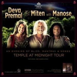 Deva Premal & Miten with Manose in Portland @ Revolution Hall | Portland | Oregon | United States