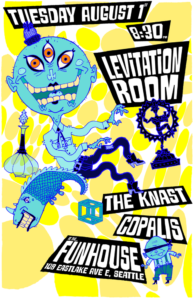 The Knast, Copalis On Aug 01 @ El Corazon | Seattle | Washington | United States
