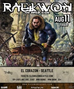 Carter Wilson, Relevant References, DTL On Aug 11 @ El Corazon | Seattle | Washington | United States