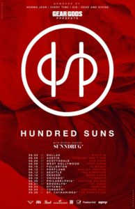 Hundred Suns Deathbreaker On Aug 13 @ El Corazon | Seattle | Washington | United States