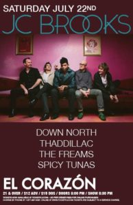 Down North, Thaddillac, The Freams, Spicy Tunas On July 22 @ El Corazon | Seattle | Washington | United States