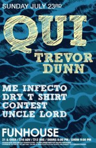 Me Infecto, Dry T-Shirt Contest, Uncle Lord On July 23 @ El Corazon | Seattle | Washington | United States
