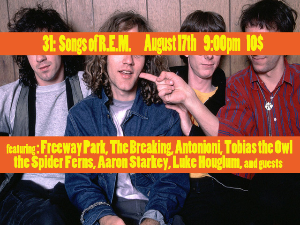 31: Songs of R.E.M. featuring: On Aug 17 @ The sunset Tavern | Seattle | Washington | United States