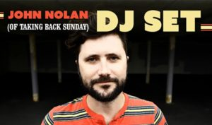John Nolan of Taking Back Sunday DJ Set On Aug 04 @ Showbox SoDo Lounge | Seattle | Washington | United States