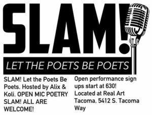 Slam! Let The Poets Be Poets On July 20