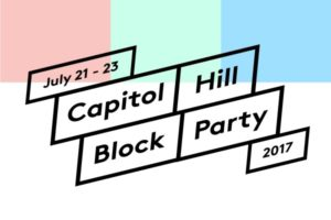 CAPITOL HILL BLOCK PARTY ON JULY 23 @ Neumos | Seattle | Washington | United States