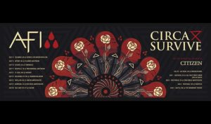 AFI and Circa Survive On Aug 5 @ Showbox SoDo | Seattle | Washington | United States