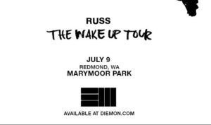 RUSS ON JULY 9 @ King County's Marymoor Park