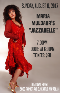 "Maria Muldaur's ""Jazzabelle"" @ The Royal Room 