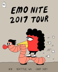 Emo Nite On Aug 8 @ Chop Suey | Seattle | Washington | United States