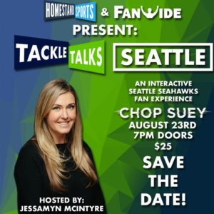 Tackle Talks Seattle On Aug 23 @ Chop Suey | Seattle | Washington | United States