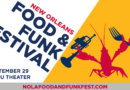 New Orleans Food & Funk Festival 2017 Announced for September 29
