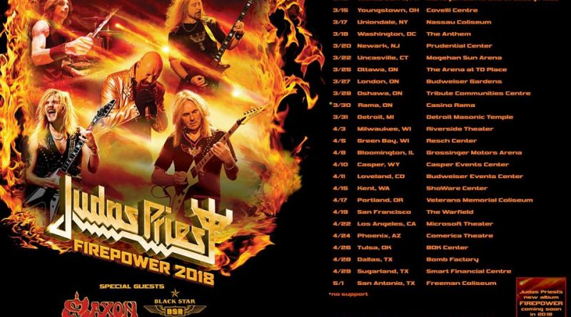 Judas Priest Announces April Concert Date at Kent's Showare Center