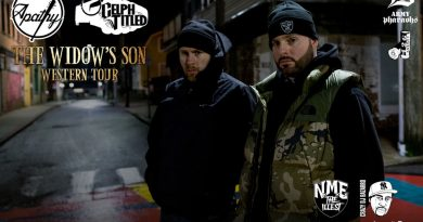 Apathy and Celph Titled to Play The Crocodile on March 18th