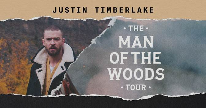 Justin Timberlake Adds Second Tacoma Dome Show on November 13th