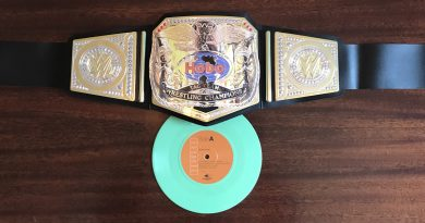 Hobosexual Release 'Tag Team Wrestling Champions' 7-inch on McCready's Hockeytalkter Records