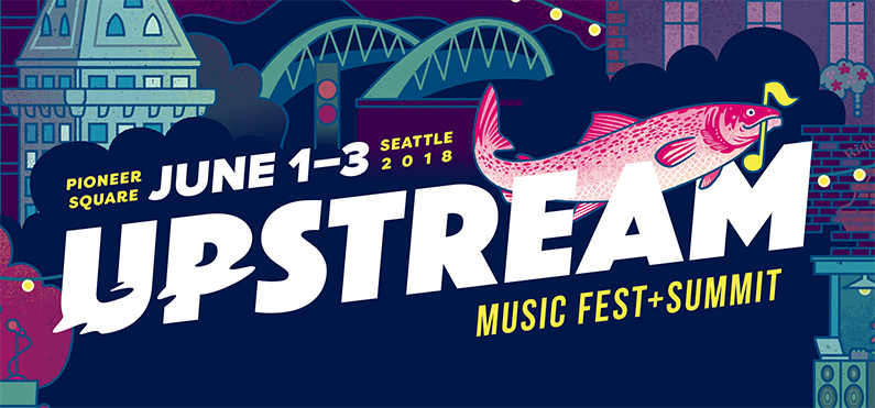 Upstream Music Fest and Summit announces full lineup for 2018