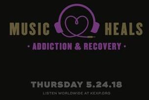 """You are not alone in your struggle"" – KEXP Presents Music Heals: Addiction & Recovery"
